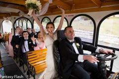 amanda trolley happy bride