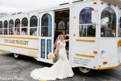 amanda trolley happy bride 2